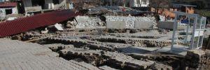İzmir'de korkutan heyelan