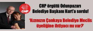 CHP örgütü Odunpazarı Belediye Başkanı Kurt'a sordu!