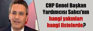CHP Genel Başkan Yardımcısı Salıcı'nın hangi yakınları hangi listelerde?