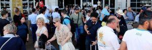 Turist sayısı, yıllık yüzde 95 azaldı!