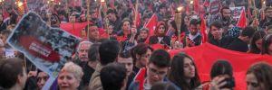 Tarihi rekor! 30 bin kişi 'Çanakkale Şehitleri' İçin yürüdü