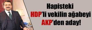 Hapisteki HDP'li vekilin ağabeyi AKP'den aday!