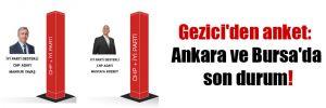 Gezici'den anket: Ankara ve Bursa'da son durum!