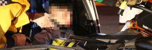 14 yaşındaki çocuk kaza yaptı