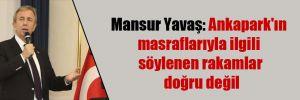 Mansur Yavaş: Ankapark'ın masraflarıyla ilgili söylenen rakamlar doğru değil