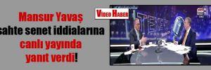 Mansur Yavaş sahte senet iddialarına canlı yayında yanıt verdi!