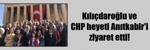 Kılıçdaroğlu ve CHP heyeti Anıtkabir'i ziyaret etti!