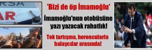 İstanbul'da mazbata kutlamasında dikkat çeken anlar!