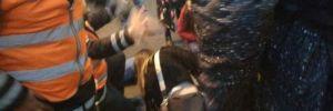 Metrobüs kaza yaptı! Yaralı var