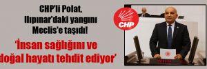 CHP'li Polat, Ilıpınar'daki yangını Meclis'e taşıdı!