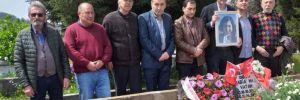 Alper Taş'tan Rabia Naz'ın ailesine ziyaret