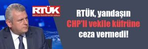 RTÜK, yandaşın CHP'li vekile küfrüne ceza vermedi!