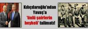 Kılıçdaroğlu'ndan Yavaş'a 'ünlü şairlerin heykeli' talimatı!