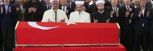 Şehit yüzbaşı Özdemir Ankara'da toprağa verildi