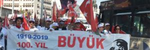 Ankara'da CHP'den '19 Mayıs' yürüyüşü