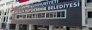 Antalya Büyükşehir Belediyesi'nden Türkiye Cumhuriyeti tabelası!