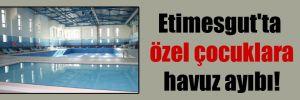 Etimesgut'ta özel çocuklara havuz ayıbı!