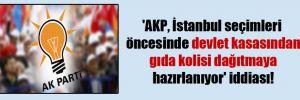 'AKP, İstanbul seçimleri öncesinde devlet kasasından gıda kolisi dağıtmaya hazırlanıyor' iddiası!