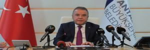 Antalya Büyükşehir Belediyesi helikopter kiralayacak