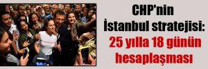 CHP'nin İstanbul stratejisi: 25 yılla 18 günün hesaplaşması