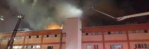 Büyükçekmece'de fabrika yangını: 4 işçi öldü!
