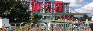 İBB'de İmamoğlu hazırlığı Atatürk posterleri tekrar asıldı