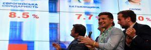 Ukrayna'daki erken genel seçim: Zelenskiy'in partisi birinci