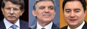 AKP'den Gül, Davutoğlu ve Babacan'a davet yok