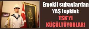 Emekli subaylardan YAŞ tepkisi: TSK'yı küçültüyorlar!
