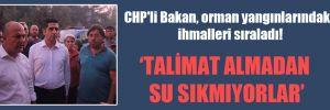 CHP'li Bakan, orman yangınlarındaki ihmalleri sıraladı!