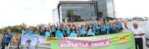 İBB'den 'Haydi çocuklar bisikletle okula' etkinliğine destek!
