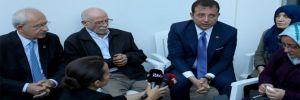 CHP'nin kurmaylarından Tuzla'da yaralanan itfaiye erine ziyaret!