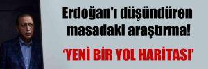 Erdoğan'ı düşündüren masadaki araştırma!
