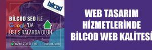 WEB TASARIM HİZMETLERİNDE BİLCOD WEB KALİTESİ