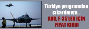 Türkiye programdan çıkarılmıştı… ABD, F-35'ler için fiyat kırdı