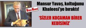 Mansur Yavaş koltuğunu Khaleesi'ye bıraktı!