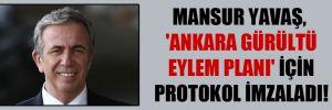 Mansur Yavaş, 'Ankara Gürültü Eylem Planı' için protokol imzaladı!
