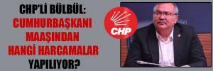 CHP'li Bülbül: Cumhurbaşkanı maaşından hangi harcamalar yapılıyor?
