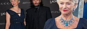 Keanu Reeves'in sevgilisini ünlü oyuncuyla karıştırdılar