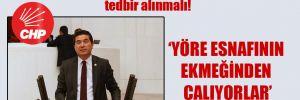 CHP'li Kaya: Suriyeli kaçak turizmcilere yönelik tedbir alınmalı!