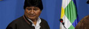 İstifaya zorlanan Evo Morales, Bolivya'dan ayrıldı
