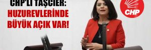 CHP'li Taşcıer: Huzurevlerinde büyük açık var!