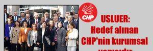 CHP PM üyesi Usluer hakim karşısına çıktı! Usluer: Hedef alınan CHP'nin kurumsal yapısıdır