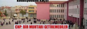 Otizm skandalında adı geçen muhtar komisyondan kaçtı!  CHP: Bir muhtarı getiremediler