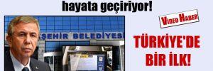 Türkiye'de bir ilk! Mansur Yavaş 'Akıllı Taksi Projesi'ni hayata geçiriyor!
