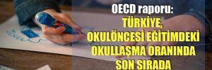 OECD raporu: Türkiye, okulöncesi eğitimdeki okullaşma oranında son sırada