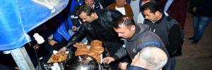 Başkan Soner Çetin güne yine erken başladı