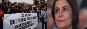 Kaftancıoğlu'na yakınlığı ile bilinen Halkevleri'nden İmamoğlu'na su protestosu
