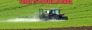 Türkiye'deki tarım arazilerinin yüzde 15'i ipotek altında!