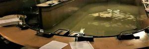 Veneto Parlamentosu'nu iklim değişikliği önergesini reddettikten 2 dakika sonra su bastı!